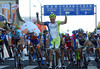 Elia Viviani wins stage one ahead of Andrew Fenn and Edvald Boasson Hagen - and take's the leader's red jersey too..!