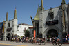 The escape has decided to pass up a movie at Grauman's Chinese Theater.