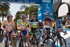 Robbie McEwen is called up to the line for his last race as a pro.