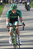 Vincent Jerome has attacked on the approach to the second ascent of the Kwaremont...