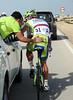 Peter Sagan needs to change his bike - let's see how not to change a bike..?