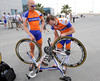 Are Jos Van Emden and Graeme Brown thinking of becoming mechanics in their next lives..?