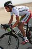 Fumiyuki Beppu wears his Japanese champion's jersey with pride...