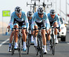 Tom Boonen raced his heart out to get Omega Pharma-Quick-Step into 2nd place, seven seconds down...