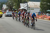 Zabriskie is giving his all to keep the break's hopes alive as they pass through the town of Crested Butte, just 5 more k to the finish!