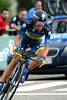 Alberto Contador took 2nd, just 17-seconds away from winning the stage..!