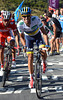 Contador attacks again and again, but Rodriguez is strong enough to resist - and beat his rival in the sprint atop the Cuitu Negru..!