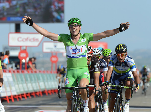 Yes, John Degenkolb has clocked up his hat-trick of victories in this Vuelta - and there are still two weeks to go..!