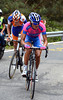 Lampre's Acona and Rabobank's Gesink are just a bit further back...