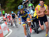 Contador attacks, and this looks like the winning move..!