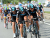 Team Sky answers Green Edge with its own brand of sadism - but then the winds die down...
