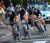 Movistar had Jonathan Castroviejo pulling them along - and they won..!