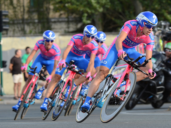 Lampre were led by Damiano Cunego and took 16th, 54-seconds down..