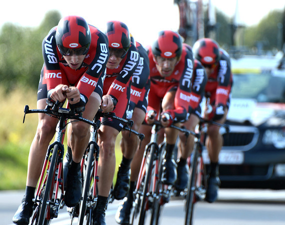 Taylor Phinney looked so strong as he towed BMC to second-place, just 3.23-seconds off the winning time...