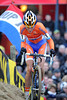 Marianne Vos is already 25-seconds up after one lap..!