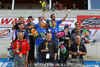 2012 Eurpean Championships - Saturday Finals
