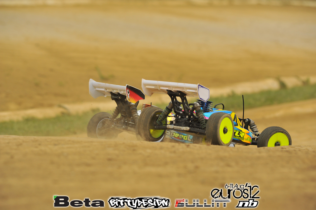 2012 Eurpean Championships - Thursday Qualifying