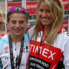 Ariana with Champion System Pro Lauren Goss - Look for her in the 2016 Olympics!