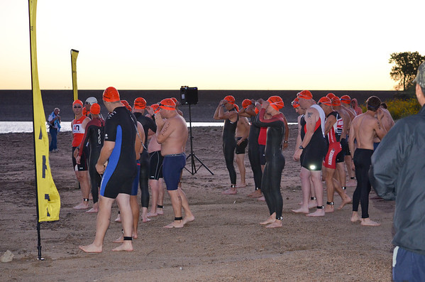 Salina Triathlon at Kanopolis Lake
