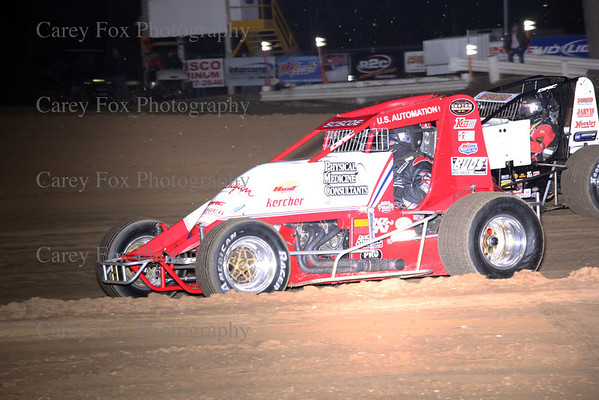 April 21, 2012 sprints and modifieds