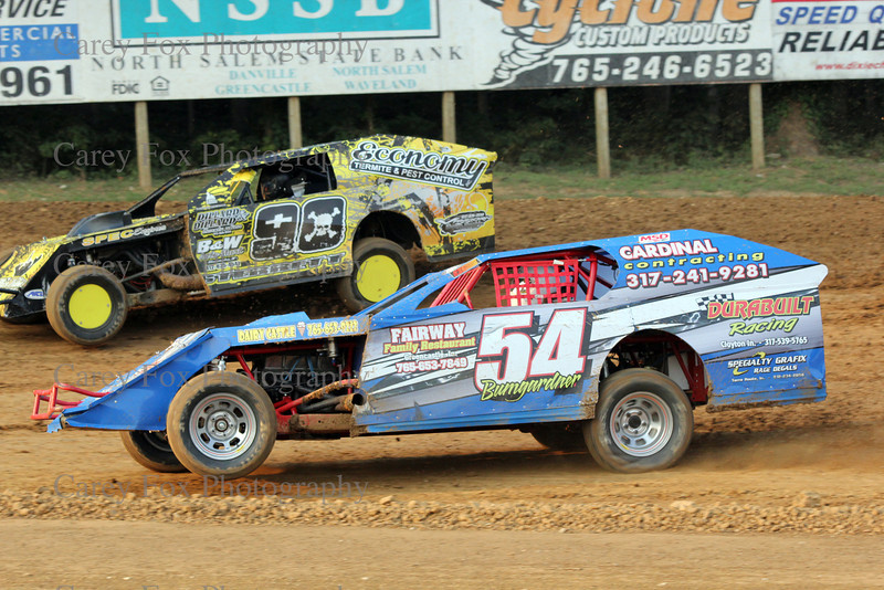 August 25, 2012 - Modifieds, super stock, bombers