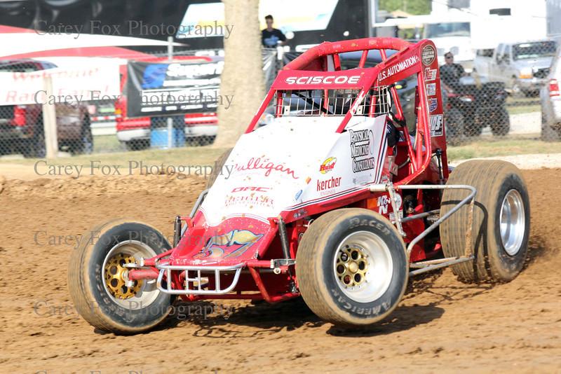 Indiana Sprint Week - July 22, 2012