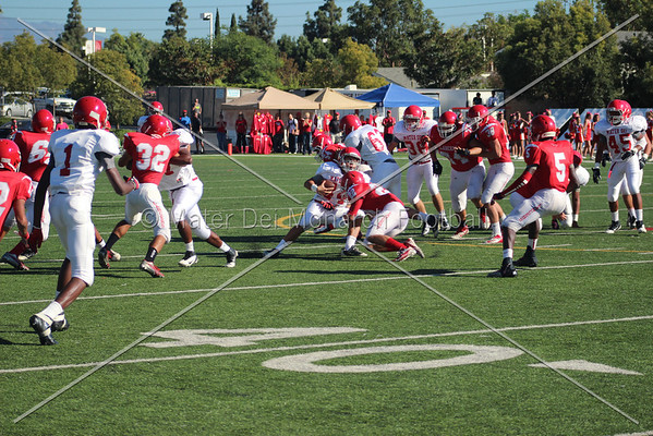 Freshman Red vs. Orange Lutheran 2012