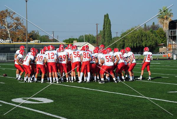 Freshman Reserve vs. Servite 2012