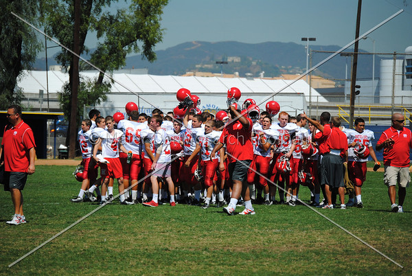 Frosh Reserve vs. Santa Monica 2012