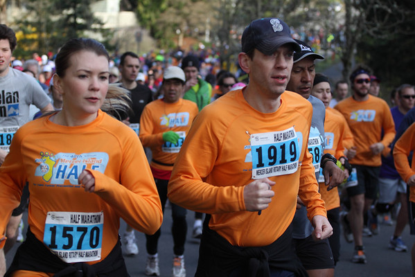 Mercer Island Half Marathon (3.25.2012)