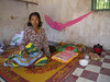 Lady dying and staying at Wat in Stueng Hav
