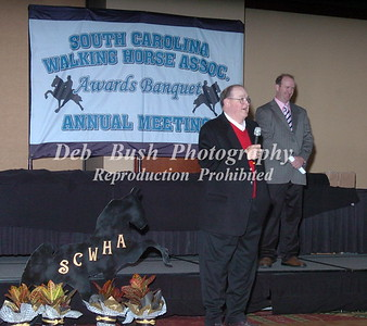 2012 SOUTH CAROLINA WALKING HORSE ASSSOCIATION AWARDS BANQUET  JAN. 7- 2012