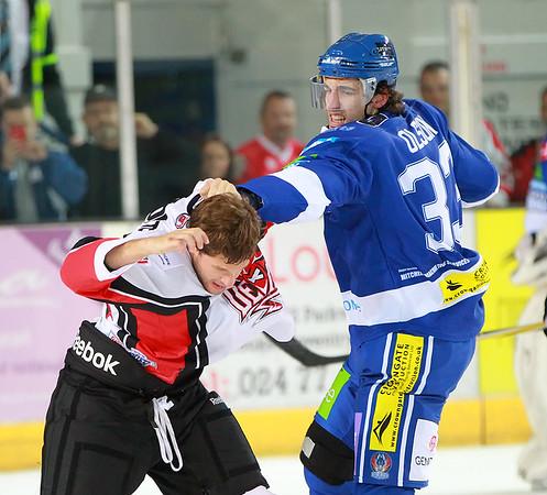 Blaze v Cardiff Devils - 22/09/2012