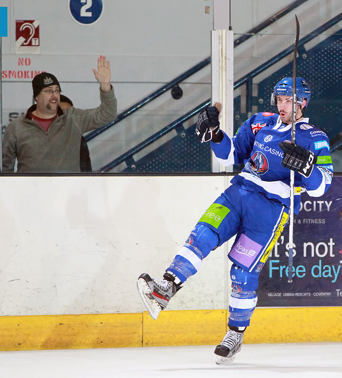 Blaze v Edinburgh Capitals - 28/11/2012