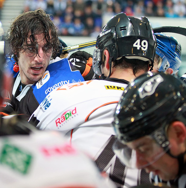Blaze v Sheffield Steelers - 09/12/2012