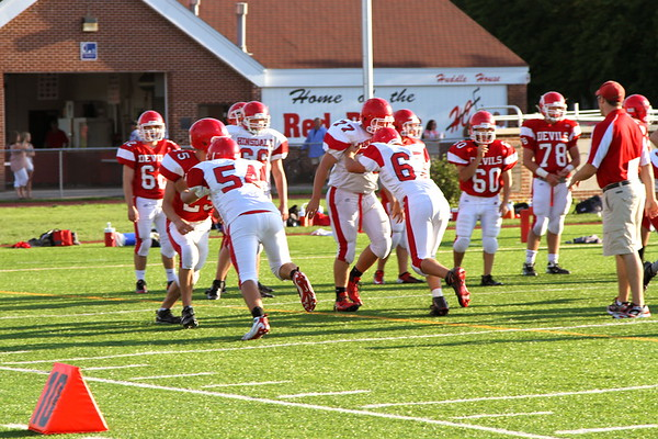 8/17/12 Sophomore Red & White Scrimmage