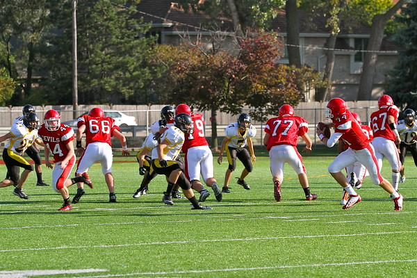 9/29/12 Hinsdale South (Homecoming)