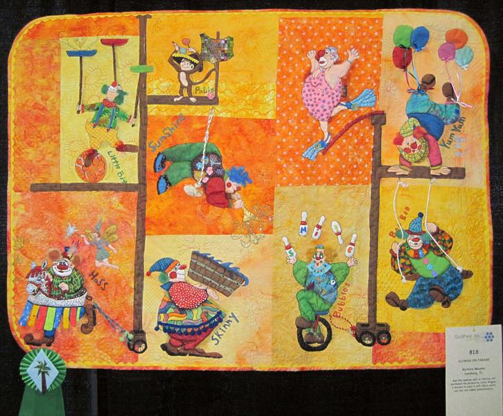 Judge's Recognition<br /> Clowns on Parade<br /> Barbara Meunier