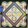 Best of Show<br /> First Place, Intermediate Pieced Quilts<br /> Sunshine<br /> Pamela McIntyre