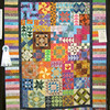 Best Machine Quilting<br /> Batik Sampler<br /> Charlene Gustin