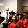 Saline Fiddlers with former Detroit Tiger Pitcher (1977-1984 member during the 84 World Series Championship team) Dave Rozema.  Dave was a speaker at this event.