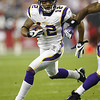 Signed 8 x 10 of Vikings legend, Percy Harvin.<br /> Value: $75<br /> Donated by: Minnesota Vikings