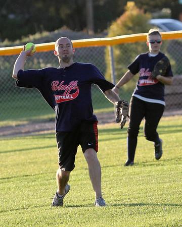 Coed Softball -- June 19