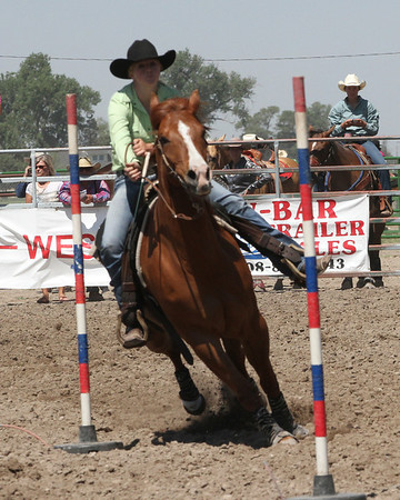 High School Rodeo at Mitchell