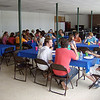 Chow time!  Fiddler parents all share in bringing their scrumptious recipes to camp and it is carb heaven. SALINE FIDDLERS