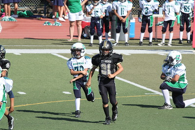 2012-9-15 Pee Wee Thunder vs. Ceres Seahawks