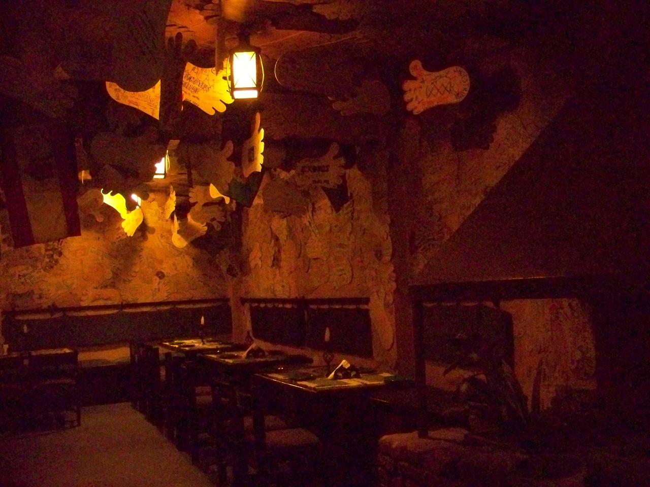 0672 - Inside Walls of Rum Doodle Restaurant - Katmandu Nepal.JPG