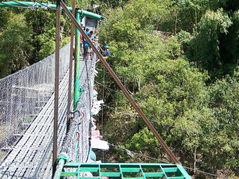 0641 - Bundgy Bridge along Araniko Highway in Nepal Between Kodari and Katmandu - Nepal.JPG