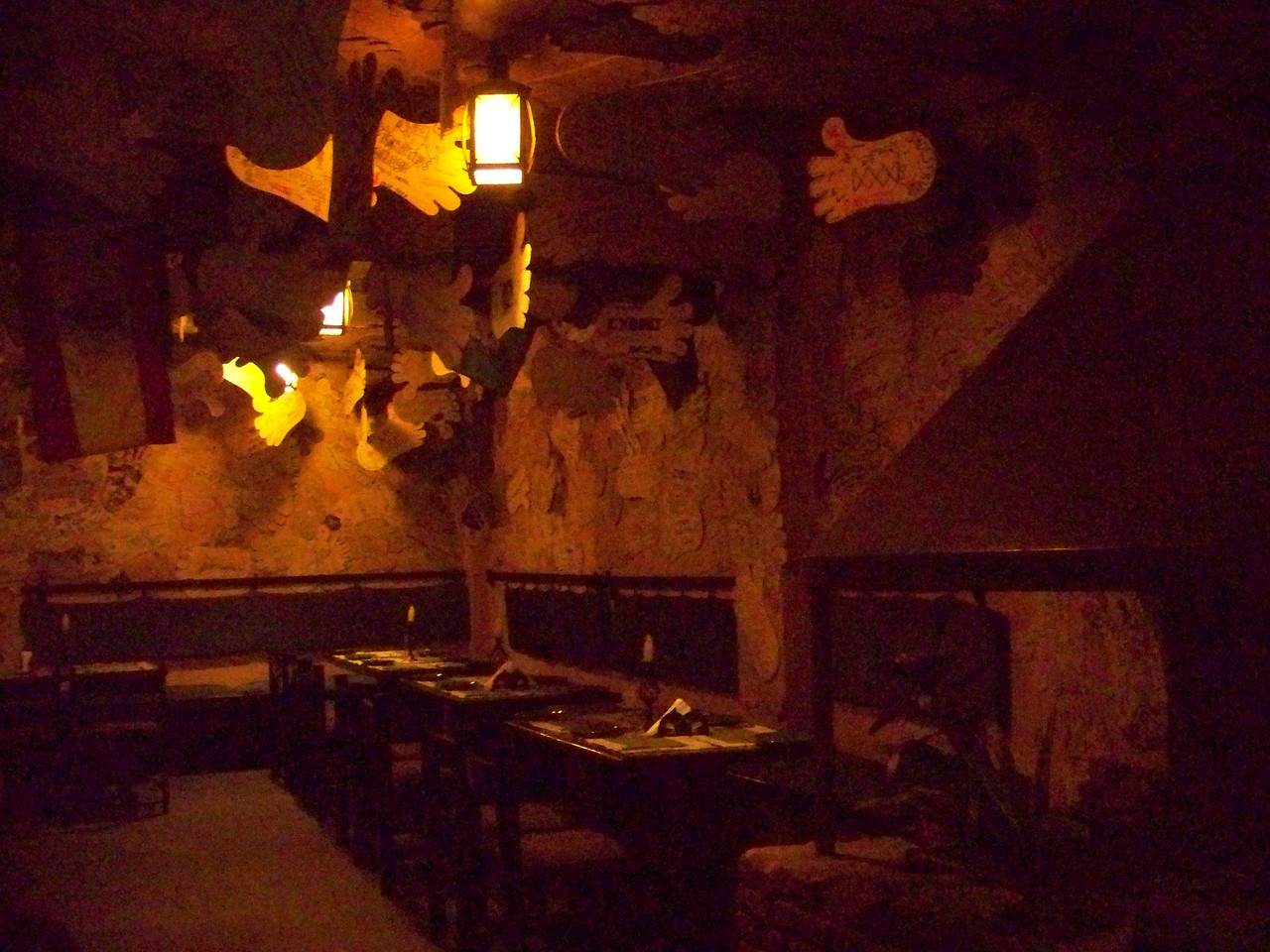 0670 - Inside Walls of Rum Doodle Restaurant - Katmandu Nepal.JPG