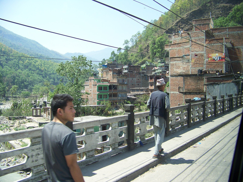 0649- Scenery along Araniko Highway in Nepal Between Kodari and Katmandu - Nepal.JPG